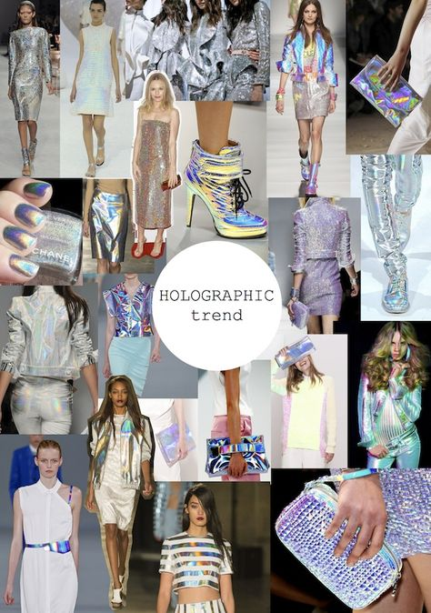 Holographic outfits: back to the FUTURE