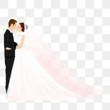 حلوى العريس العروس الكرتون اليد مرسومة المواد العروس كرتون مرسومة باليد Png وملف Psd للتحميل مجانا Bride Cartoon Bride Clipart Hand Painted Wedding