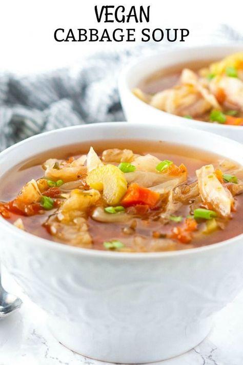 Vegan Cabbage Soup