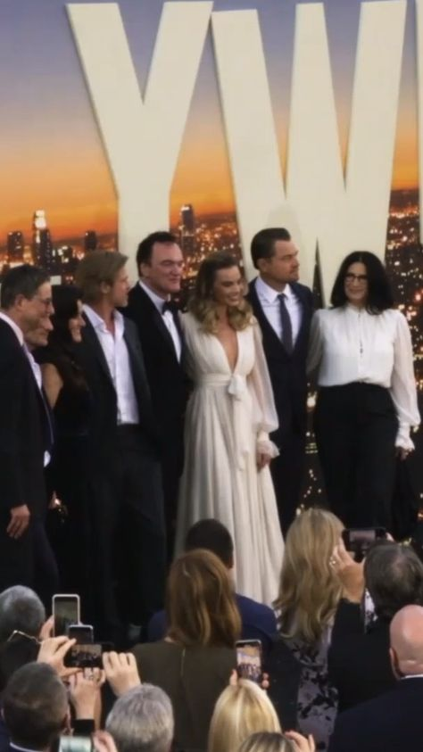 """Regal on Instagram: """"We traveled back to 1969 with the cast of #OnceUponATimeInHollywood on the Regal red carpet!"""""""