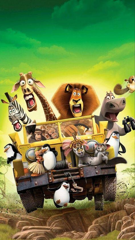 Madagascar animated movie HD wallpaper