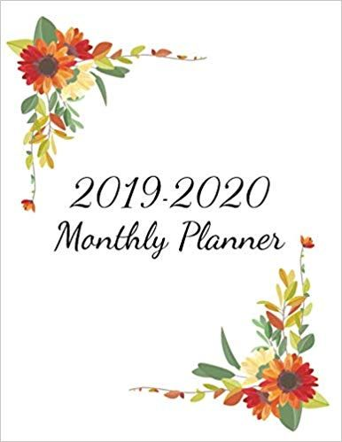 December 2020 Calendar Cut 2019 2020 Monthly Planner: Calendar Organizer and Weekly, Monthly