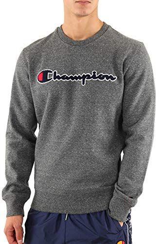 ⬇ Champion ⬇ Herren Grafisches Sweatshirt, Grau | Champion