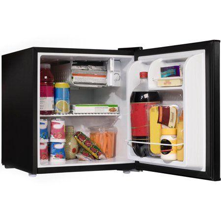 Galanz 1 7 Cu Ft One Door Refrigerator Black Image 3 Of 6