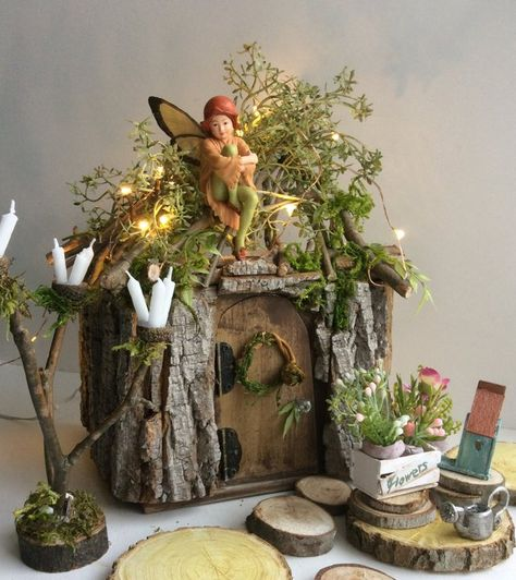 The Fairy Scoop: Fairy Houses And Furniture By Olive