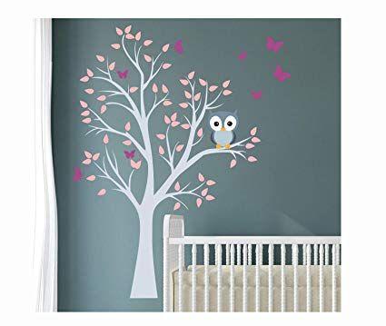 Madras24 Wandtattoo Kinder Babyzimmer Aufkleber Eule Eulen Wandsticker Wand Waldtiere Kinde Babyzimmer Ideen Wandtattoo Kinderzimmer Wandaufkleber Kinderzimmer