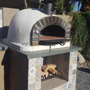 Authentic Pizza Ovens Lisboa Built In Or Countertop Wood Fired