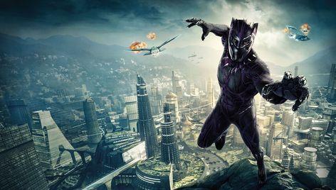 Black Panther Wall Art, Black Panther Poster, Black Panther Art, Black Panther Marvel, Marvel Wall Art, Avengers Poster, Marvel Comics, Art