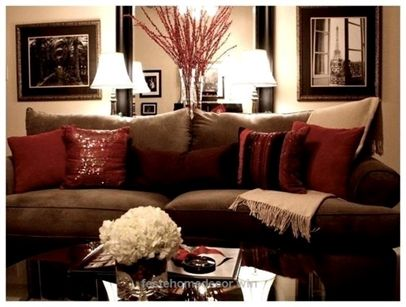 Burgandy And Tan Home Decor Images 1000 Ideas About Brown Couch Decor On Pinterest Living Room Brown Feste Home Decor Brown Living Room Decor Brown Living Room Brown And Gold Living Room