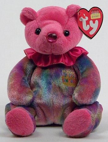 MWMT 7.5 Inch Ty Beanie Baby ~ FEBRUARY the Birthday Bear