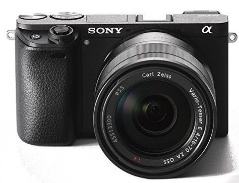Sony Alpha 6300 E Mount Systemkamera 24 Megapixel 7 5 Cm 3 Zoll Displaay Xga Oled Sucher Zeiss Kit 16 70mm Objektiv Schwarz Mit Bildern Systemkamera Kameras Kamera