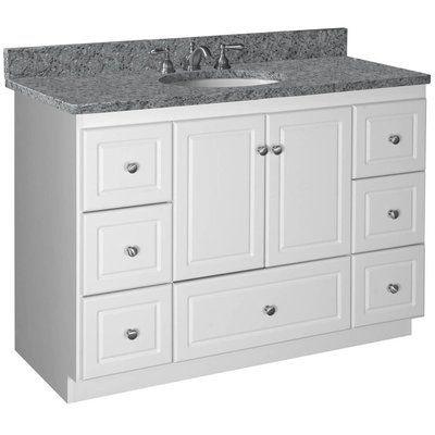 48 Inch Bathroom Vanity Without Sink Artcomcrea