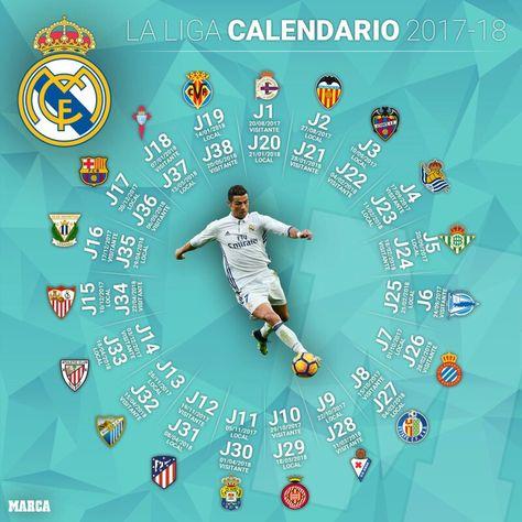 Real Madrid Calendario.Pinterest Pinterest
