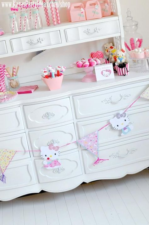 Hello Kitty Birthday Party-The Banner