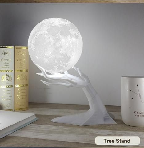 Ultrasonic Moon Lamp Air Humidifier Essential Oil Diffuser My Retail Guru Night Light Lamp Cute Room Decor Lamp