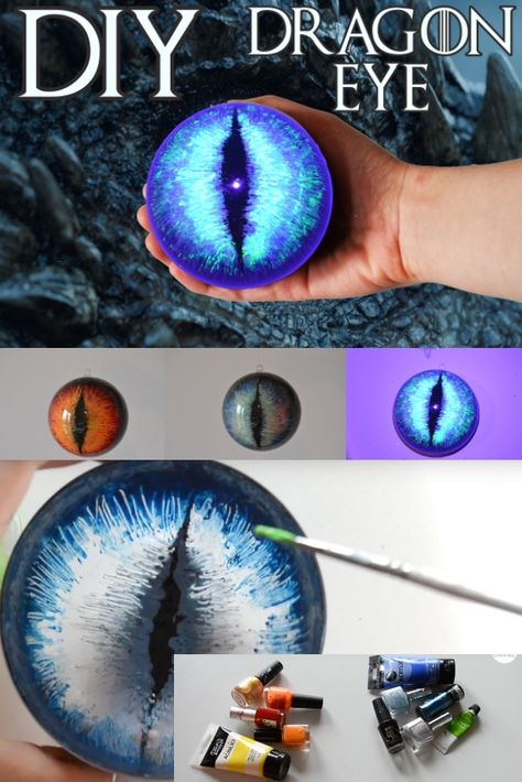 DIY Game of Thrones Viserion White Walker Dragon Eye Tutori . - DIY Game of Thrones Viserion White Walker Dragon Eye Tutorial Decoration Crafts – DIY Game of Thrones Viserion White Walker Dragon Eye Tutorial Decoration Crafts Night King Da – Diy Game Of Thrones, Game Of Thrones Dragons, Game Of Thrones Ornaments, Drogon Game Of Thrones, Game Of Thrones Halloween, Game Of Thrones Cosplay, Decor Crafts, Fun Crafts, Arts And Crafts