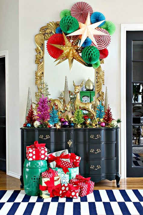 Plum Nellies Treasures Chalkboard Sign Christmas Decor Sign Set Christmas Set of 4 Decorative Signs 7 x 5