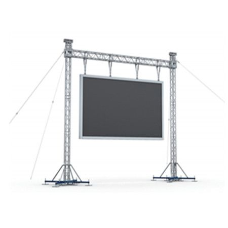 China Customized Goal Post Truss Structure For Led Screen