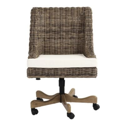 Chastain Woven Desk Chair With Images