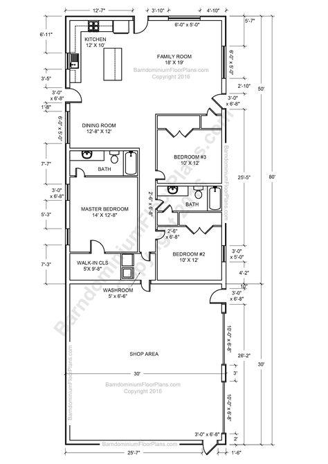 Barndominium Floor Plans, Benefit, Cost   Price and Design - copy barn blueprint 3