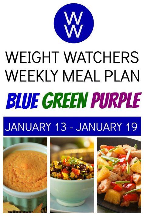 dieta weight watchers menu plancha