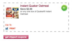 graphic relating to Quaker Printable Coupons called Incredibly hot* contemporary printable discount coupons $2 off Quaker Oatmeal Purchase 1