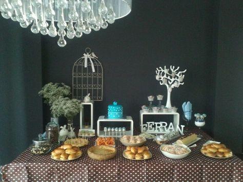 mesa dulce y salada para bautizo