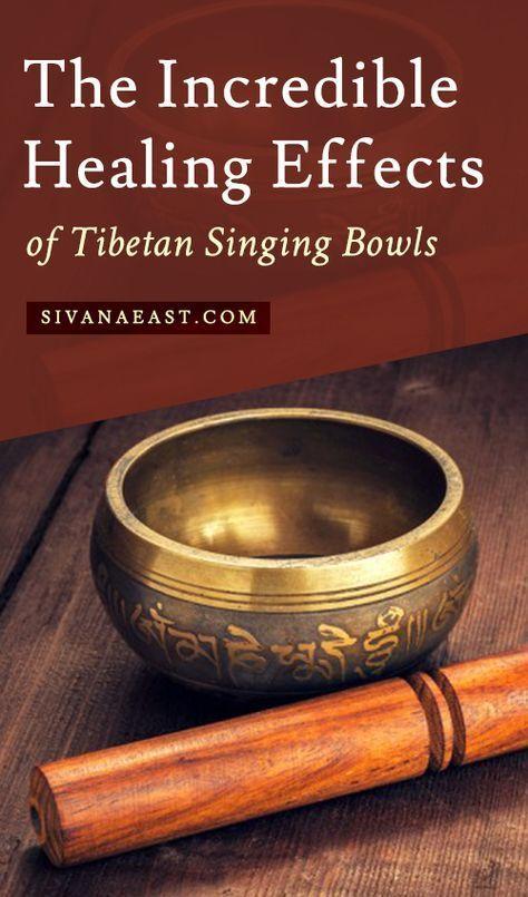 The Incredible Healing Effects Of Tibetan Singing Bowls Singing Bowls Singing Bowl Meditation Tibetan Singing Bowls