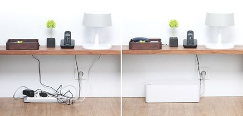D-Line Cable Management BoxHide and conceal messy power strips and electrical