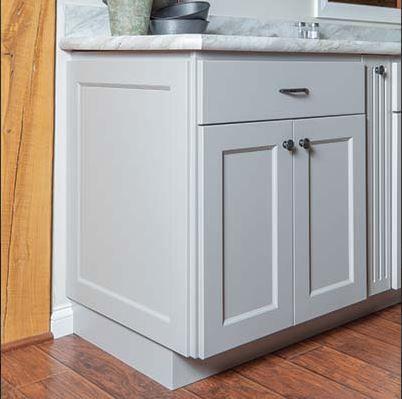 Decorative End Kitchen Cabinets End Panels Kitchen Island Makeover Cabinet Decor