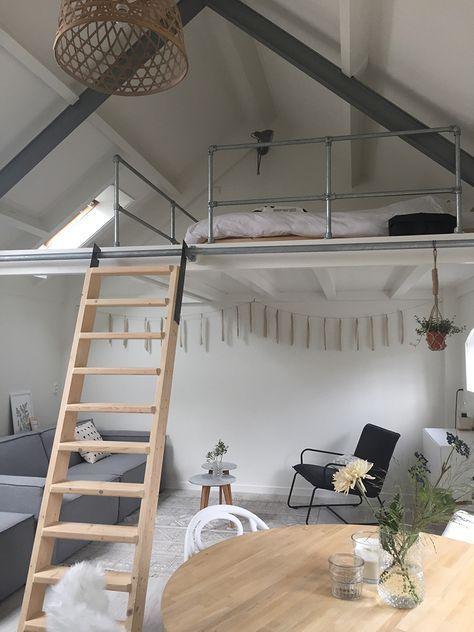 Projet rénovation : mezzanine pour lit d\'appoint | Comble ...