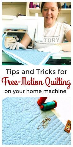 Beginner Free Motion Machine Quilting with Jenny Doan of Missouri Star (Instructional Video)Free motion machine quilting tutorial by Mo Star Quilt Co - awesome!Free motion machine quilting tutorial by Hilary. Sewing Machine Quilting, Machine Quilting Patterns, Quilting Templates, Quilt Patterns Free, Sewing Machines, Sewing Patterns, Quilting Stitch Patterns, Rose Patterns, Quilting For Beginners