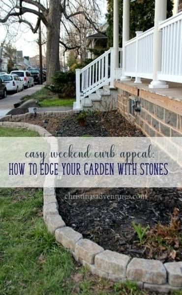 Super Landscaping On A Budget Curb Appeal Flagstone Pavers 61 Ideas Appeal Budget Curb Flagstone Ideas Curb Appeal Garden Landscape Edging Garden Edging