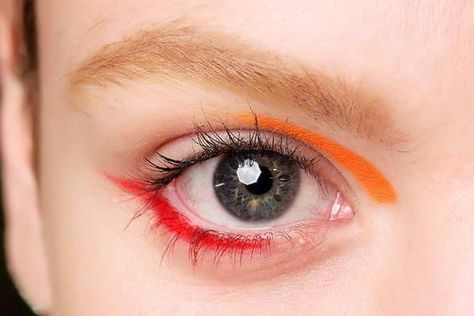 We're not saying you should give up your black cat eye for good, but this spring is all about having fun with colored liquid eyeliner. #makeuplooks #BestEyeliner