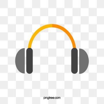 Gambar Kartun Headphone Clipart Kartun Headphone Grafik Kartun Png Dan Psd Untuk Muat Turun Percuma Kartun Gambar Headphone