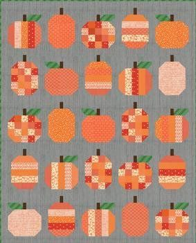 Halloween Orange Pumpkin Fabric 100/% Cotton Bags Crafting Sewing Quilting Craft