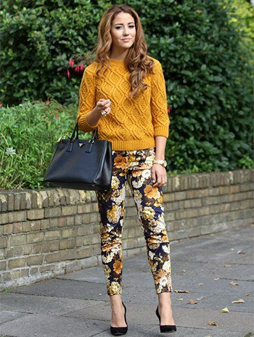 22 Cute Floral Print Outfits Combinations for Spring Season : 22 Gorgeous Floral Print Outfit Trends for this Season