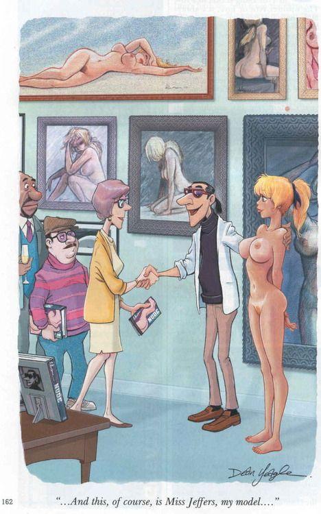 cartoon dirty nude