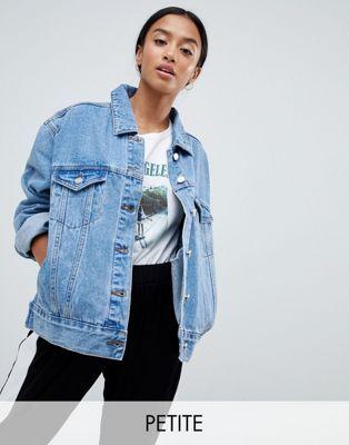ed92064628 Women's Embroidered Denim Trucker Jacket - Universal Thread Light ...