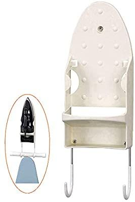 Amazon Com Zittee Iron Holder Wall Mount Ironing Board Hooks For