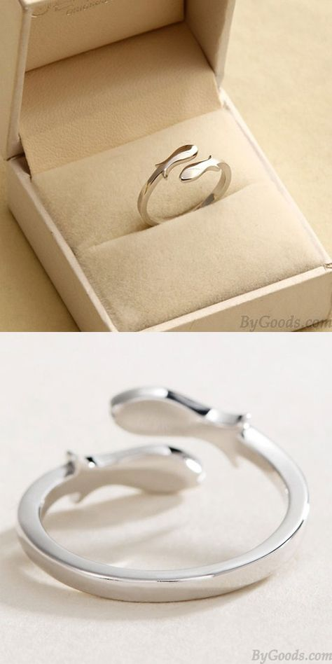 Sternbild Fische Silber Fertigstellung Polieren Öffnen Ring #fish #ring