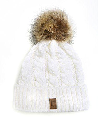 schnüren in verkauf usa online billiger Verkauf Damenmütze mit Fellbommel Strick Mütze mit Bommel Damenmütze ...
