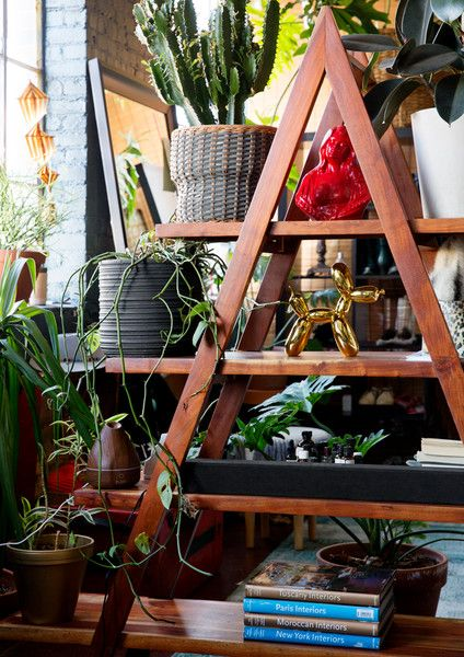 Stocked Shelves - The Eclectic Maximalist Home Of Nashville's Coolest Fashion Designer - Photos