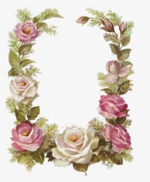 Vintage Floral Frame Flower Vintage Border A4 3244273 Floral Border Design Flower Border Flower Frame