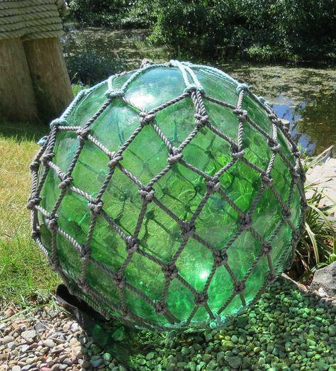 """of 2 Japanese Glass Fishing FLOATS Mixed LOT-60 20 ea 4/"""" BULK Vintage 3-3.5"""