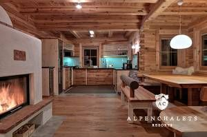 Luxus Blockhauschalet Bei Schladming Huttenurlaub In Schladming Dachstein Mieten Alpen Chalets Resorts Blockhaus Hauser Haus Innenarchitektur Haus