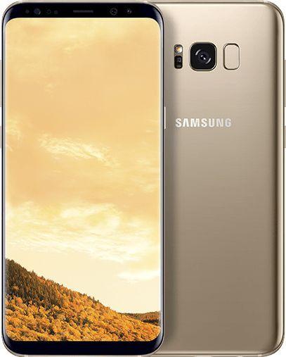 سامسونج جالاكسي اس 8 بلس شريحتين اتصال 64 جيجا الجيل الرابع ال تي اي ذهبي Samsung Galaxy Samsung Galaxy S8