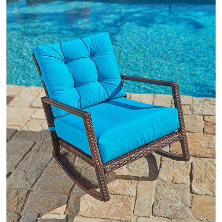 Free Shipping Buy Suncrown Outdoor Furniture Teal Patio Rocking