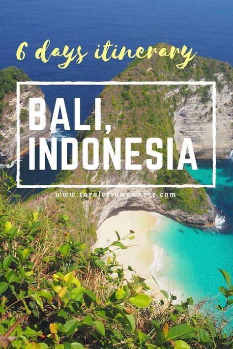 6 days itinerary to Bali, Indonesia   budget guide to Bali   travel guide to Bali   #BaliItinerary