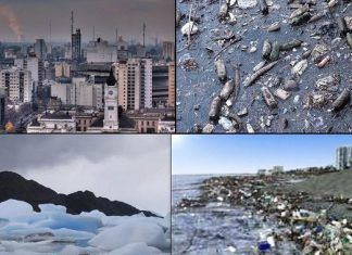 Impacto Ambiental De Las Actividades Humanas Sobre Su Entorno Medioambiente City Photo Aerial City
